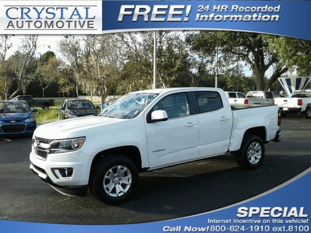 2018 Chevrolet Colorado LT 4x2 LT 4dr Crew Cab 5 ft. SB