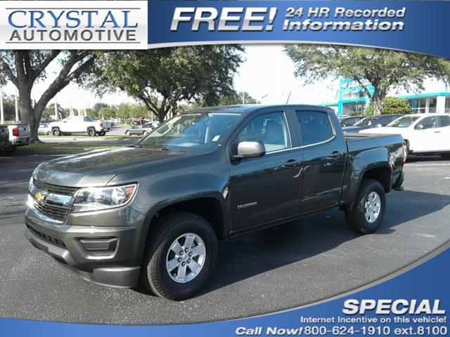 2018 Chevrolet Colorado Work Truck 4x2 Work Truck 4dr