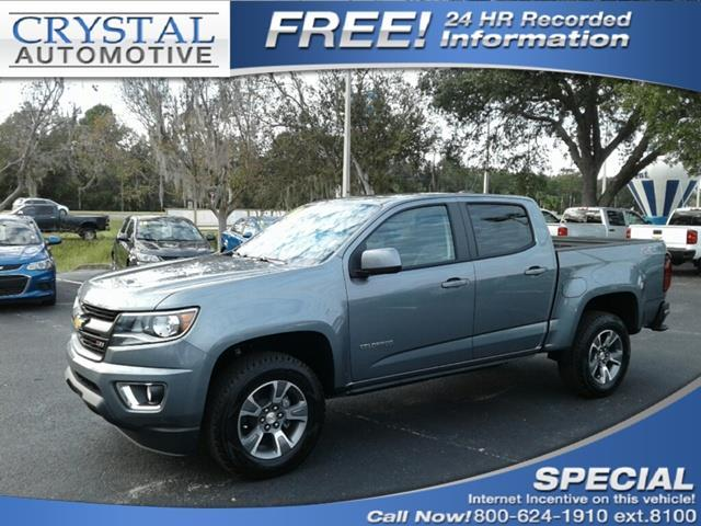 2018 Chevrolet Colorado Z71 4x2 Z71 4dr Crew Cab 5 ft.