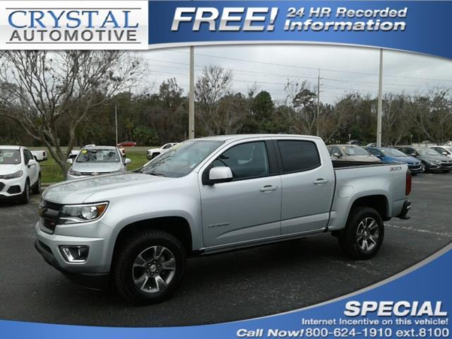2018 Chevrolet Colorado Z71 4x4 Z71 4dr Crew Cab 5 ft.