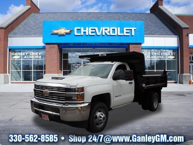 2018 Chevrolet Silverado 3500hd Cc Work Truck 4x4 Work