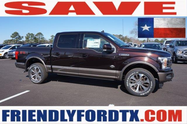 2018 Ford F 150 King Ranch 4x4 King Ranch 4dr Supercrew 55 Ft Sb