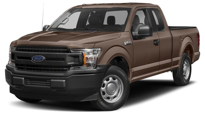 2018 Ford F-150 XLT 4x2 XLT 4dr SuperCab 6.5 ft. SB