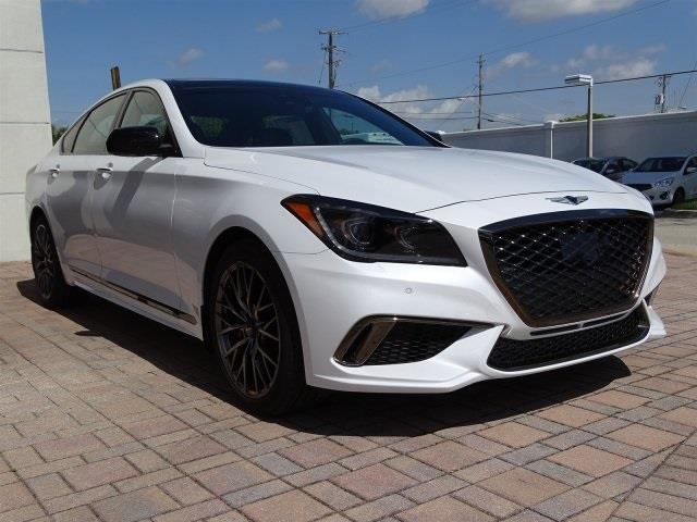 2018 Genesis G80 3.3T Sport 3.3T Sport 4dr Sedan