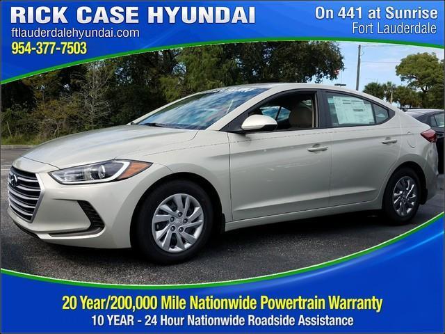 Rick Case Hyundai >> 2018 Hyundai Elantra SE SE 4dr Sedan PZEV for Sale in Davie, Florida Classified | AmericanListed.com
