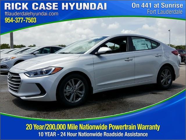 Rick Case Hyundai >> 2018 Hyundai Elantra SEL SEL 4dr Sedan PZEV (US) for Sale in Davie, Florida Classified ...