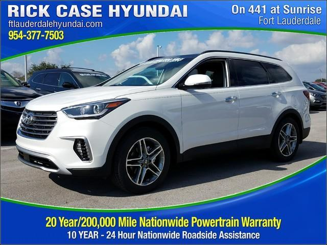 2018 Hyundai Santa Fe Se Ultimate Se Ultimate 4dr Suv For