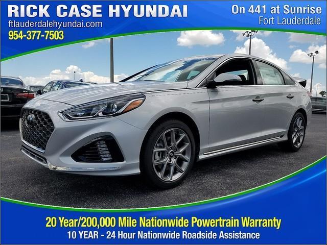Rick Case Hyundai Plantation >> 2018 Hyundai Sonata Limited 2.0T Limited 2.0T 4dr Sedan