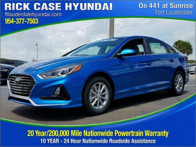 Rick Case Hyundai >> 2018 Hyundai Sonata SE SE 4dr Sedan for Sale in Davie ...