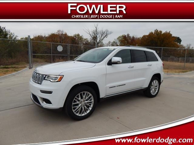 2018 jeep grand cherokee summit 4x4 summit 4dr suv for. Black Bedroom Furniture Sets. Home Design Ideas