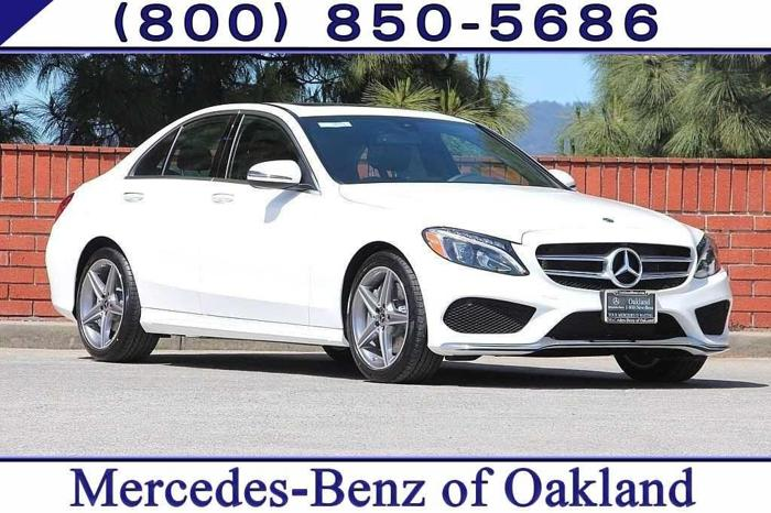 2018 Mercedes-Benz C-Class C 300 C 300 4dr Sedan