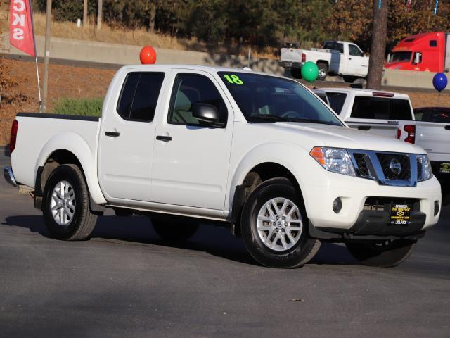 2018 Nissan Frontier S 4x4 S 4dr Crew Cab 5 ft. SB 5A