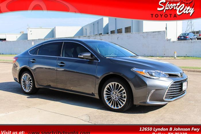 2018 toyota avalon limited limited 4dr sedan for sale in dallas texas classified. Black Bedroom Furniture Sets. Home Design Ideas