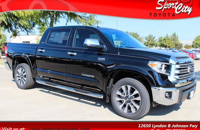 2018 toyota tundra limited 4x2 limited 4dr crewmax cab pickup sb 5 7l v8 for sale in dallas. Black Bedroom Furniture Sets. Home Design Ideas