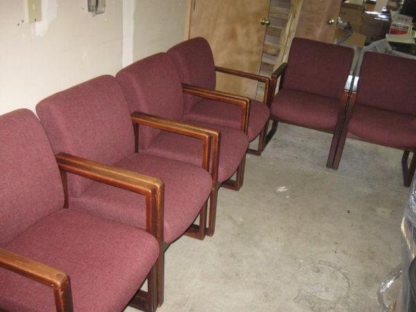 20 Quot Wide Office Waiting Room Chairs Heavy Duty 6