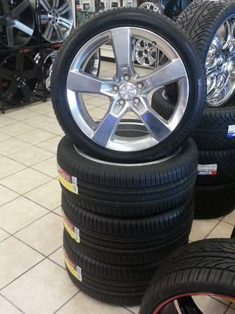 20in CHEVY CAMARO SS WHEELS OEM WITH NEW TIRES FOR $1500.00 - $1500