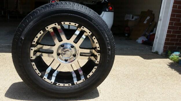 20in. Rims and Tires 4 sale 4 Dodge Ram
