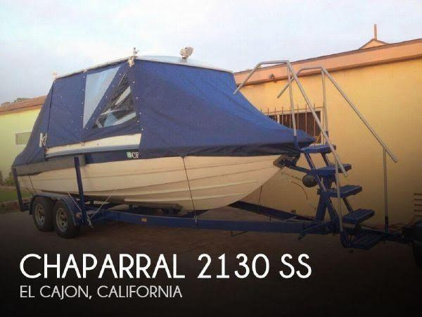 21' 1994 Chaparral 2130 SS