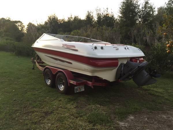 21 1998 Larson 206 Sei For Sale In Land O Lakes Florida