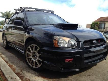 obo 2005 subaru impreza wrx sti for sale in san diego california classified. Black Bedroom Furniture Sets. Home Design Ideas
