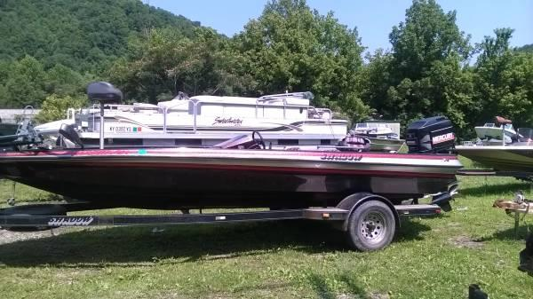 21 Ft Bass Boat With Bridge Port Merc For Sale In