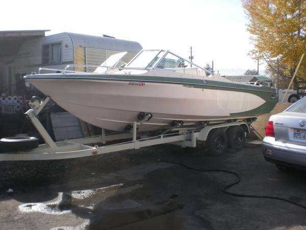 21 Glastron Aqua Lift Inboard Outboard For Sale In