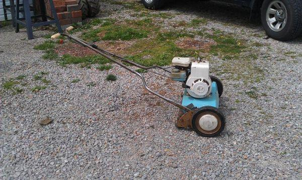 21 Quot Reel Type Mower By Rugg Mfg Co Newark Ohio