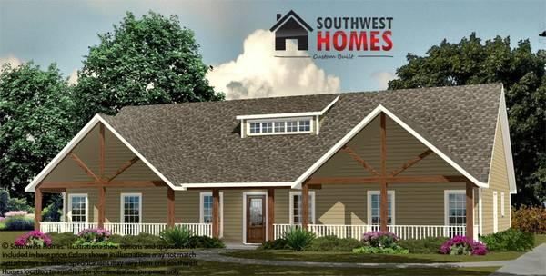 2108ft the ponderosa southwest homes build this home for Southwest home builders