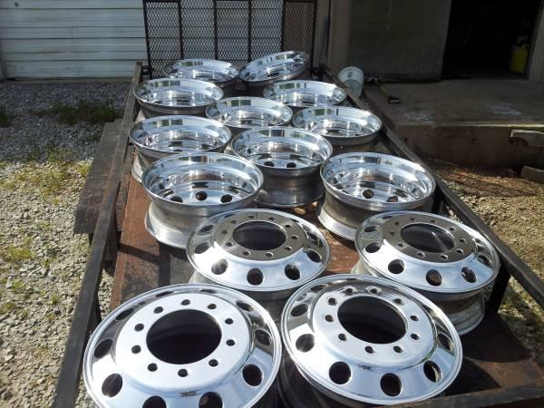 22 5 Amp 24 5 Dually Wheels For Sale In Lanton Missouri