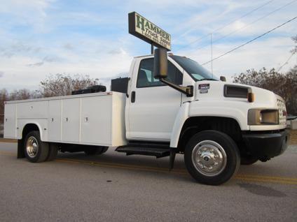 $22,500 2005 GMC C5500 14 Service  Utility  Lube Truck