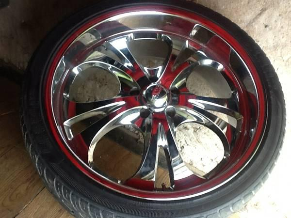 22 inch BOSS 304 rims - for Sale in Story, Wyoming ...