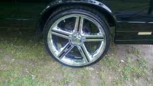 S10 Lug Pattern >> 22 INCH CHROME IROC RIMS WITH TIRES - (Selma) for Sale in ...