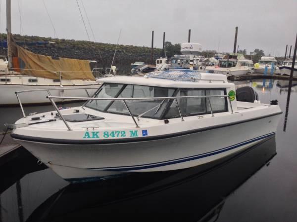 22 39 olympic fishing boat for sale in sitka alaska for Alaska fishing boats for sale