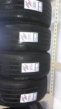 225/50R17 SET OF 4 USED MICHELIN PILOT HXMXM4 TIRES -