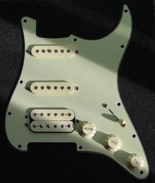 Fender Deluxe HSS Strat Stratocaster Loaded Pickguard for