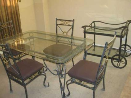 Marvelous Glass Wrought Iron Dining Table For Sale In Las Vegas Andrewgaddart Wooden Chair Designs For Living Room Andrewgaddartcom