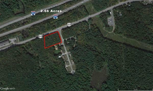 $225000 2.66 acre Industrial Lot for Sale on Route 20