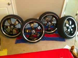 22s REDUCED PRICE 22s with black inserts - $800 (raleigh)