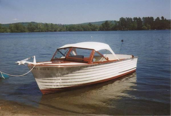 23 39 1963 chris craft sea skiff for sale in adamant for Chris craft boat accessories