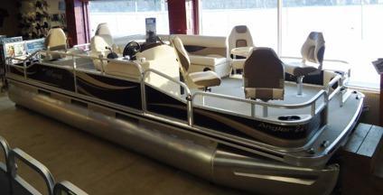 New 22ft Deluxe Weeres Pontoon Sea Legs Lift 90hp