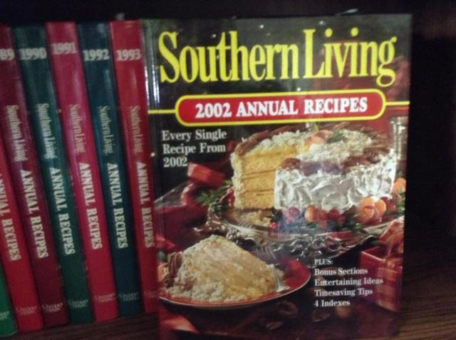 23 Annual Southern Living Cookbooks 1979-2002 - $3 Lake City