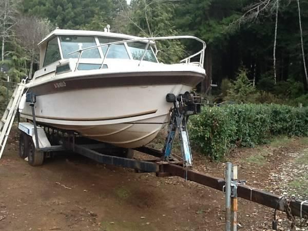 23 39 boat w 302 ford motor and kicker for sale in for Boat motors for sale louisiana