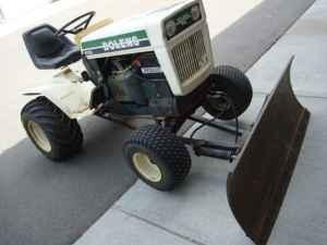 23 HP Bolens Tractor with Snow Plow Blade - $2000 (Golden)