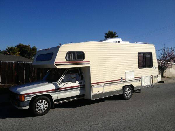 Amazing 1985 Toyota Sunrader Motorhome For Sale In Santa Cruz CA