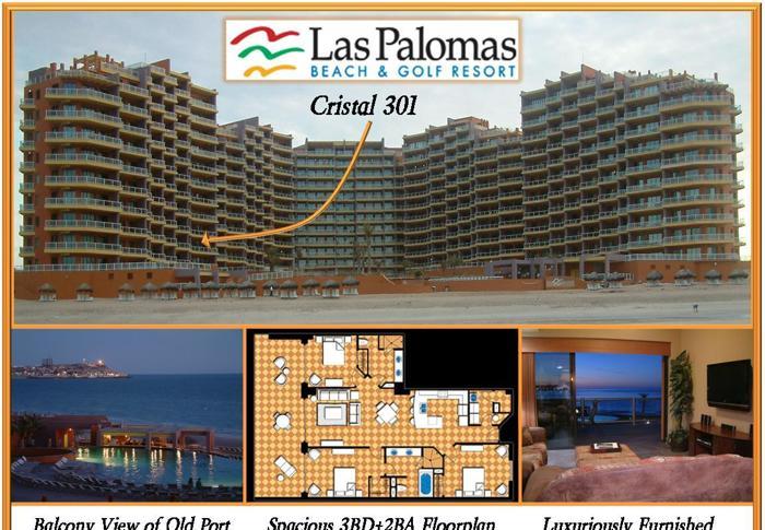 3br Las Palomas Oceanfront Condo Big Enough So 2
