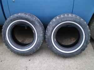 235-75 R15 Wintermark Snow & Mud Tires - $25