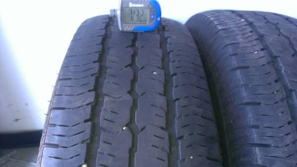 235/75R16 PAIR OF GOOD USED GOODYEAR WRANGLER ST TIRES