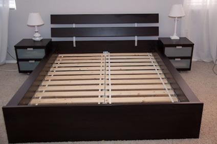 New In Box Ikea Hopen Queen Sized Bed Frame For Sale In