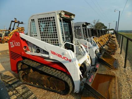 $24,500 Takeuchi Track Loader Available For Sale and