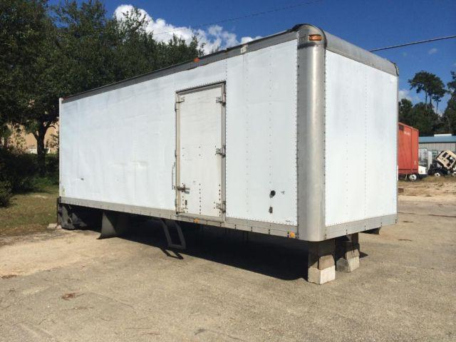 24' BOX MORGAN TRAILER WITH LIFT GATE